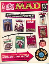 Worst From Mad Magazine Annual 6 1963 VF NM Wally Wood Record
