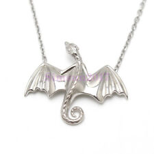 Game of Thrones Daenerys Dragon Necklace Pendant Gift 925 Sterling Silver