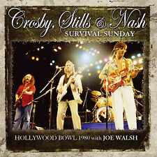 CROSBY STILLS & NASH w JOE WALSH New Sealed 2017 UNRELEASED LIVE 1980 CONCERT CD
