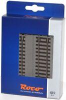 Roco H0 42512-S Gerades Gleis G1/2 mit Bettung, Länge 115 mm (6 Stück) NEU + OVP