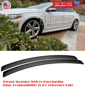 2Pcs Black Flixable Fender Flare Wheel Wall Panel Protector Fit Ford Chevy Dodge