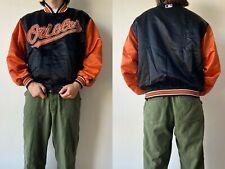 90s Vintage Starter Authentic Diamond MLB Baseball Baltimore Orioles Jacket M