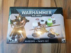 Necrons: Krieger + Farbset / Warriors + Paints Set Warhammer 40k Citadel