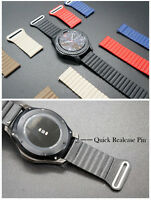 Magnetic Real Leather Loop Watch Band  Strap Bracelet For Huawei  Watch 2 Smart