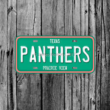 Prairie View A&M Panthers University Texas License Plate