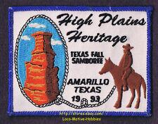 LMH Patch  1993 GOOD SAM CLUB SAMBOREE  State Rally  AMARILLO TX High Plains Htg