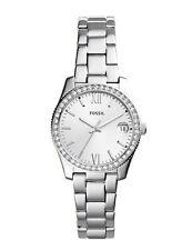 Fossil Women Scarlette Silver Stainless-Steel Watch ES4317