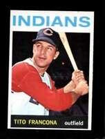 1964 TOPPS #583 TITO FRANCONA NMMT INDIANS *SBA4673