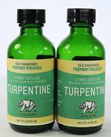 100% Pure Gum Spirits of Turpentine ( Explains Turpentine) 3 Times Distilled