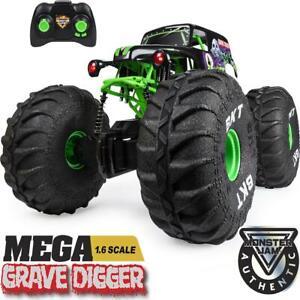 Official GRAVE DIGGER MEGA All-Terrain R/C 1:6 Scale Monster Truck Lights 4+yrs