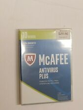 NEW McAfee Antivirus Plus 2017 10 Devices 1 Year  FREE SHIP