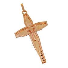 Natürliche Unisex Echtschmuck-Halsketten & -Anhänger aus Rotgold