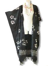 CD23 Plus Size Maxi Cardigan Kaftan Duster Jacket Wrap Dress - 2X, 3X, 4X & 5X