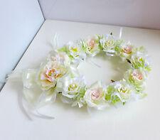 Bridal Garland Artificial Silk Flower Wedding Hanging Wall Decor