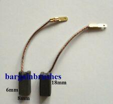 CARBON BRUSHES FOR B&D BLACK & DECKER  PL28 Elu SB21EK 323660-5  D75