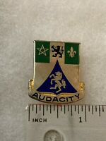 Authentic US Army 82nd Recon Battalion DI DUI Unit Crest Insignia P