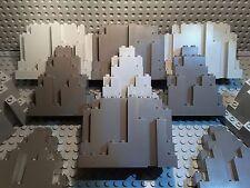6 Lego® Ritter Burg Felsen - Kingdom in vers. Größen und Formen 6082 6083 (L400)