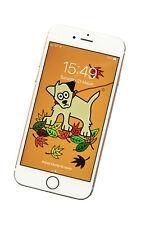 WOOF Dog Phone screensaver/wallpaper - fits all phones. DIGITAL download.