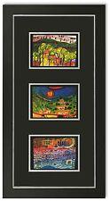 Bild Kunstdruck Friedensreich Hundertwasser Galeriebild mit Rahmen -27% SALE HW4
