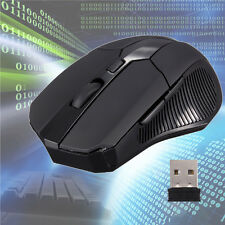 2.4GHz 6D Ratón Wireless Óptico Mouse DPI 2000 para PC Laptop + USB 2.0 Receiver