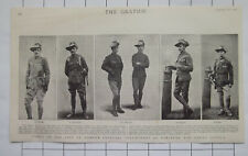 Types Of London Imperial Volunteers Equipped For South Africa 1900 News Clipping