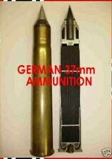 Libro Alemán 37mm CD Enciclopedia, referencia B2, armas, municiones, FUZES, conchas, Color