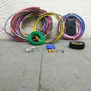 Bullet Fuse Wire Harness for 71-80 Volkswagen Nose-to-Tail Period Correct 62T
