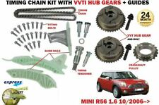 FOR BMW MINI 1.6 COOPER R56 N12 B16A 120BHP 2006-> TIMING CHAIN KIT + VVT GEAR