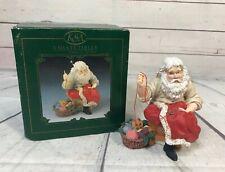 Ksa Kurt Adler / Tom Rubel Santa Claus Sewing Mending Jacket