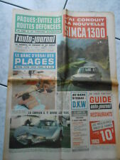 L'AUTO-JOURNAL n.321-1963-SIMCA 1300-CORVAIR G.T. OUVRE LES YEUX
