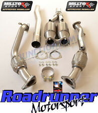 Milltek Escape Golf R32 MK5 Downpipes y Deportes Gatos Acero 200 celdas SSXVW180