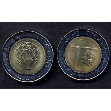 VATICANO Giovanni Paolo II 500 Lire bimet 1983 FDC UNC