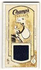 JOSH BAILEY 09/10 CHAMPS CHAMP'S MINI THREADS JERSEY #JB Game-Used Hockey Card