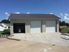 25'x30'x10' Steel Garage/Workshop Building Kit Excel Metal Building Systems Inc
