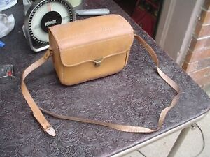 Vintage Kodak Brownie 3 Lens 8mm Movie Camera w Leather Case
