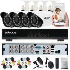 8CH HD HD 960H 1080N DVR 700TVL IR Outdoor CCTV Security Cameras System W4Z3