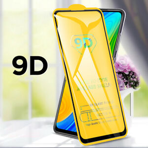 For Xiaomi Redmi Note 9 8 10 Pro 10T 5G X3 NF 9D Tempered Glass Screen Protector