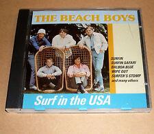 CD Album - The Beach Boys - Surf in the USA - Surfin Safari, Balboa Blue ..