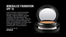 MAC Mineralize Foundation NW30 - NIB, 100% AUTHENTIC, FAST SHIP - DISCONTINUED