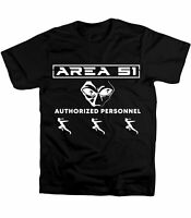 Area 51 T-shirt Authorized Personnel Alien T Shirt Naruto Run Tee Storm
