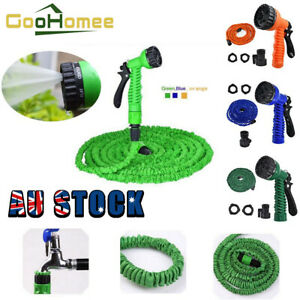 Expandable Flexible Latex Garden Water Hose With Spray Nozzle 7.5/15/22.5/30M