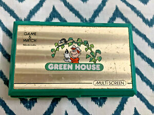 NINTENDO GAME AND WATCH MULTI SCREEN GREEN HOUSE