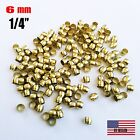 30 PCS - Brass Compression Sleeve, Tube OD 1/4