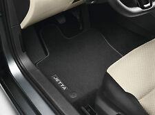Original VW Jetta 6 (5C) A6 Velours Fußmatten Premium Stoff Textil 4-teilig OVP