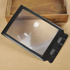 3x Magnifier A4 Full Page Reading Lens Sheet Large Magnifying Book Reading Aid