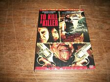 DVD, to kill a killer, film horreur, neuf