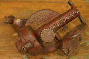 Antique Hardy Mfg Co. Marshalltown Iowa Water Kerosene Gas Pump RARE
