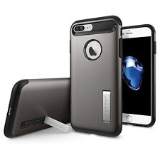 Spigen iPhone 7 Plus Case Slim Armor Gun Metal