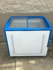 Freezer Showcase/Display Ice Cream Freezer, Restaurant Equipment.