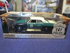 GreenLight 1:64 NYPD New York City NYC Police Chevy Biscayne RARE EXCLUSIVE